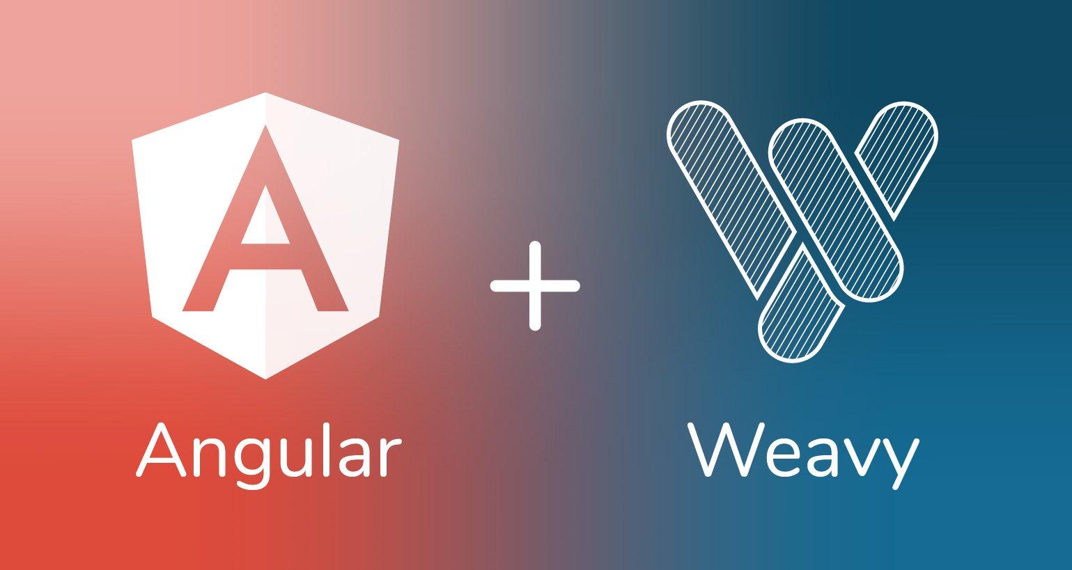 angular+weavy
