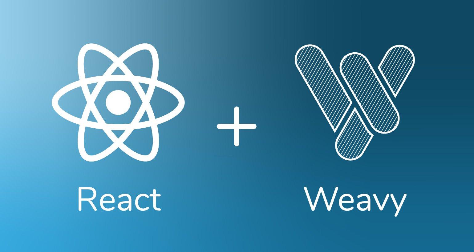 react+weavy